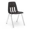 "9000 Series ~ 4-Leg Stack Chair ~ Metal Frame/ Plastic seat   18"" stack chairs, 9000 series, Virco Chairs, childrens chairs"