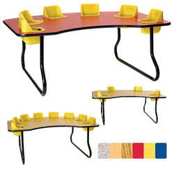 Toddler Table - 4, 6 or 8 table seating