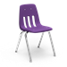 "9000 Series ~ 4-Leg Stack Chair ~ Metal Frame/ Plastic seat   10"", 12"", 14"", 16"" - 9000"