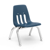 "9000 Series ~ 4-Leg Stack Chair ~ Metal Frame/ Plastic seat   10"", 12"", 14"", 16"" stack chairs, 9000 series, Virco Chairs, childrens chairs"