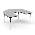 4000 Series Adjustable Activity Table - Horseshoe  adjustable, children table, activity table, classroom table