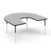 4000 Series Adjustable Activity Table - Horseshoe  - 48Horse