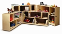 Fold and Roll Storage Cabinet - Preschool - WB0352