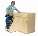 Toddler Changing Cabinet - WB0648
