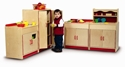 Preschool Kitchen - 4 Piece set