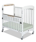 Serenity Compact SafeReach Crib with Clearview End White  - 1742120