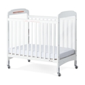 Serenity Compact Fixed Side Crib, white - Next Generation crib, serenity, mattress