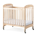 Serenity Compact Fixed Side Crib, Mirror end, natural - Next Generation crib, serenity, mattress