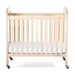 Serenity Compact Fixed Side Crib, Mirror end, natural - Next Generation - 2533040