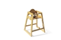 The Ultimate Food Service High Chair - Natural