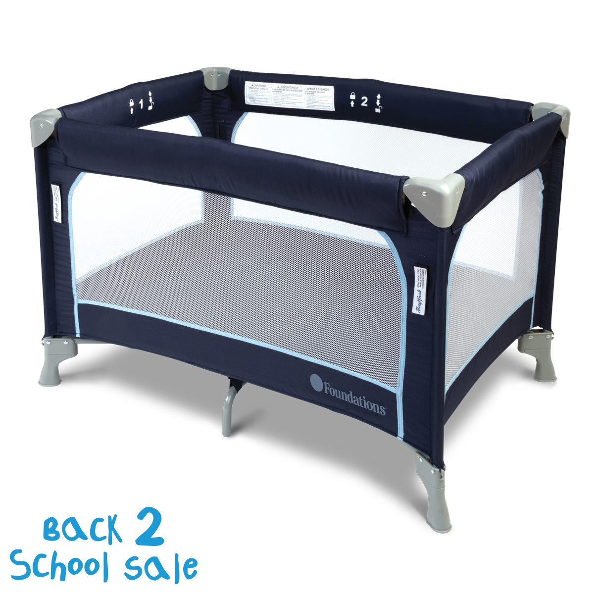 Celebrity Portable Crib - compatible with SleepFresh cover (sold separately) SleepFresh portable crib, pack and play, celebrity