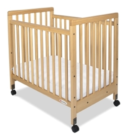 SafetyCraft Fixed Side Slatted Crib