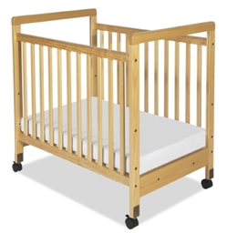 SafetyCraft Fixed Side Clearview Crib