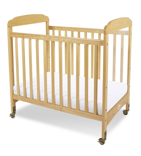 Serenity Fixed Side Clearview Crib